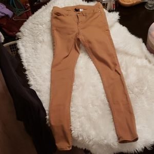 H&M Divided Rust Colored Jeans Size 6